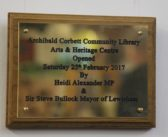 Corbett Library – has been officially opened as a Community library, Arts and Heritage Centre