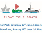Join our Float your Boat Great Get Together events this weekend