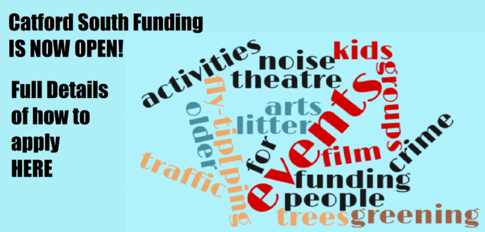 Catford South Local Assembly Funding is now OPEN!