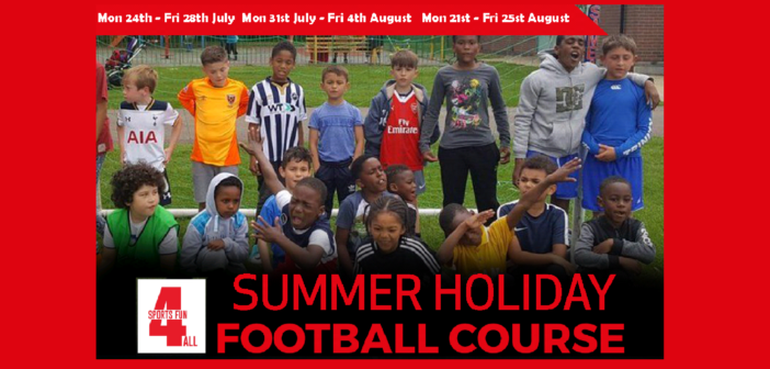 Summer Holiday Football Course in Catford with Sports Fun 4 All