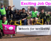 Job opportunity at Wheels For Wellbeing