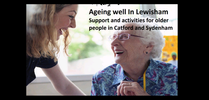 Ageing Well in Lewisham – LCC activities for older people
