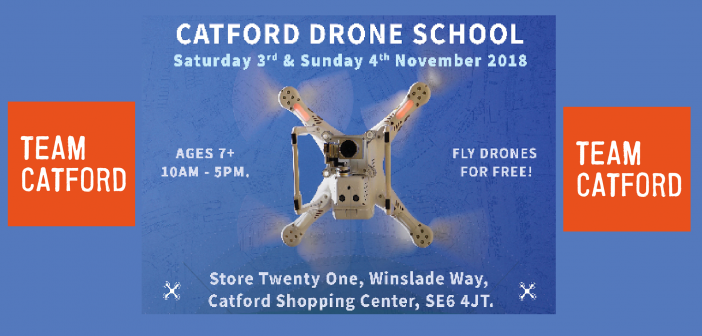 Urban Flyers launches the Drone Taster Days in Catford