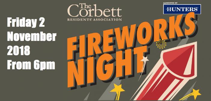 Corbett Residents Association – FIREWORKS EVENT 2018